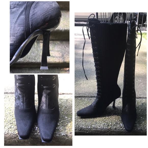 Vintage Rare 9s Fubu Knee High Boots